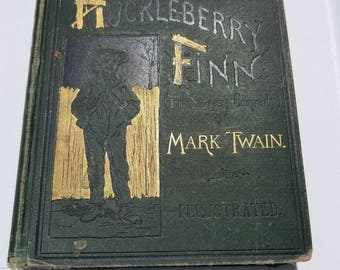 The Adventures of Huckleberry Finn, 1885 first edition, First issue, second state