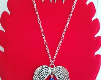 At the heart of the wing necklace