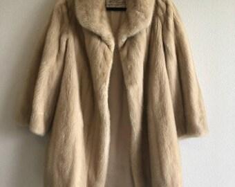 Vintage Schumacher Fur Co. Mink Coat