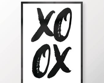 XO - Wall print