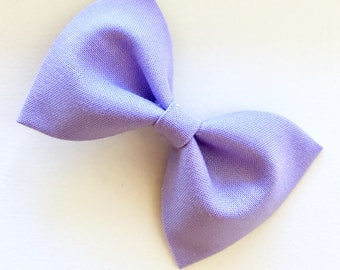 Simple Bow-Lavender Bow