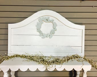 Arched Wooden Head board