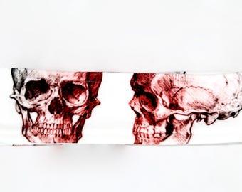 Fleece winter headband. Skulls. WYNTER.