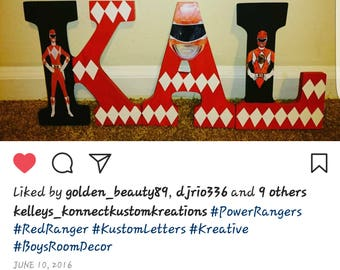 Power Ranger Letters