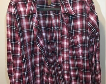 Comfortable, Oversized, Vintage Flannel - size XL