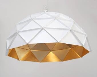 Sun Chandelier Gold 70 Stainless Steel - ADAMLAMP