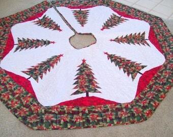 "Large 64"" Christmas Tree Skirt #13L"