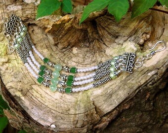 Beaded Gem Fine Jewelry Bracelet