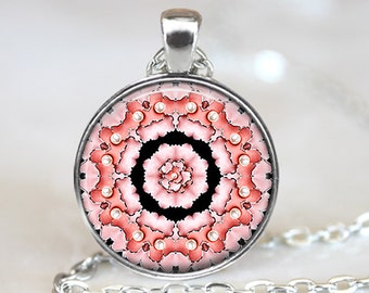 Jewelry Art Pendant, Jewelry Photo Pendant, Enamel Art Glass Pendant, Bronze Silver, Glass Picture Necklace, Jewelry Glass Dome Pendant 205