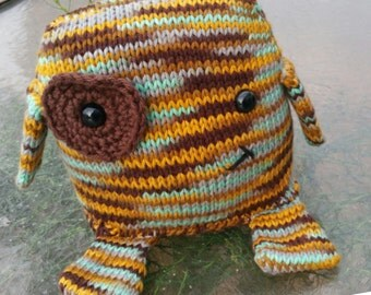 READY TO SHIP: Randall the Monster, Knit with Love