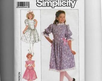 Simplicity Child's Dress Pattern 9401