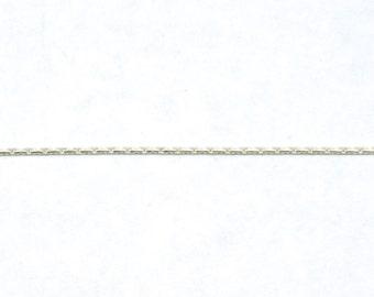Bright Silver 0.8mm Beading Chain CC148