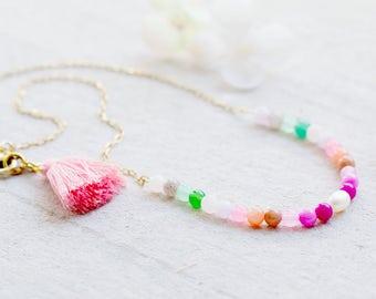 Dainty Choker Necklace, Dainty Choker, Gemstone Choker, Delicate Choker, Dainty Pearl Necklace, dainty gold choker, delicate bead necklace
