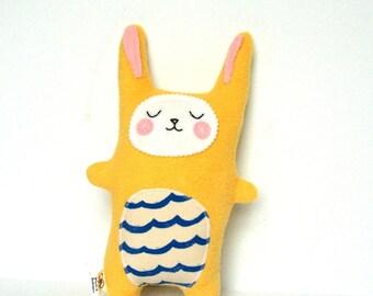 Soft Stuffed Bunny, Rabbit Softie, Rabbit Doll, Stuffed Bunny - Baby Gift