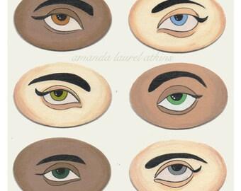 Lover's Eye 8x10 print