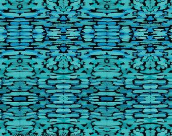 Blue Aztec Watercolor 8x10 print