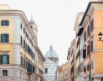 "Rome Italy Photograph, Rome Art Print, Living Room Wall Decor, Fine Art Photography, Large Art, Travel Print ""La Strada"""