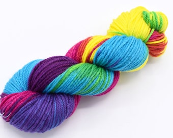 CMY Variegated Hand Dyed Yarn - Made to Order