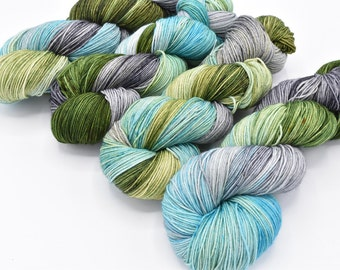 Thunderboom Variegated Lovely Sock Yarn - In Stock