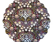 Made to Order County Cloth Creations Cotton Topped Cloth Menstrual Pads ~you pick your size & absorbency~Heart Damask