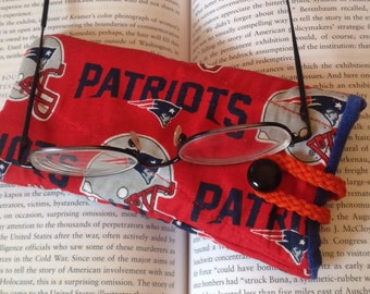 Quilted Eyeglass Case - Patriots