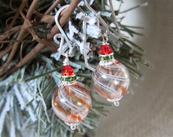 Sihaya Designs Ornaments - Candy Swirl in Silver