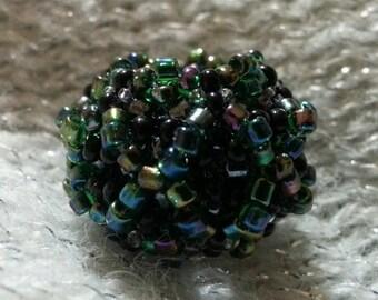 Spider-Flower Beaded Bead