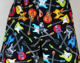 Electric GUITARS cotton boxers - LIMITED EDITION