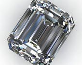 Private listing for Katie - NEO moissanite - emerald cut NEO near colorless moissanite, loose stones