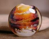 Lampwork Focal Bead Art Glass Bead Divine Spark Designs SRA