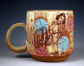 Spots and Scribbles Mug