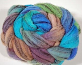 Wool Top - Merino swirl 100% Merino wool for spinning or felting FIBER 27