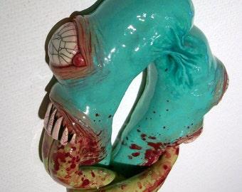Monster Love Zombie Head Pendant