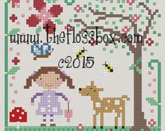 Woodland Spring Cross Stitch