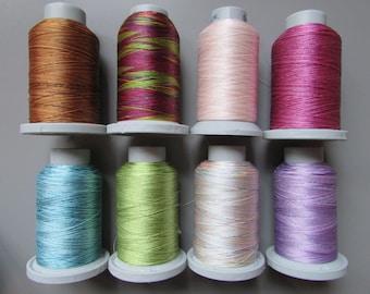 Brildor Variegated Machine Embroidery Thread 1000 Metres
