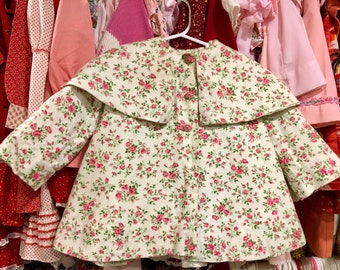 1950s Toddler Coat 2/3T