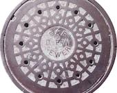 DOORMAT - San Francisco Manhole Cover - Original Photography