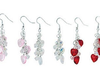 Heart Dangle Earrings