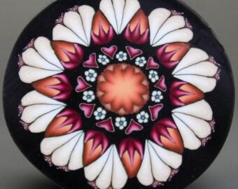 Large Polymer Clay Flower Cane -'Fresh Start' (39dd)