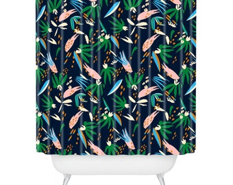 Adobo Jungle Shower Curtain
