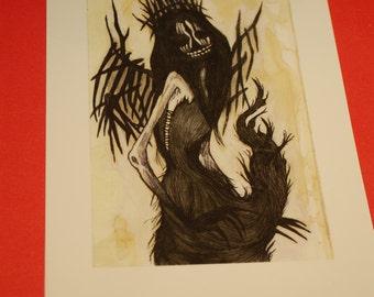 Lilith Art by Kamila Mlynarczyk Woodedwoods