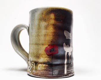 woodfired mug with decals