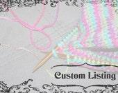 Custom Listing for Mel - Bella knit Mittens