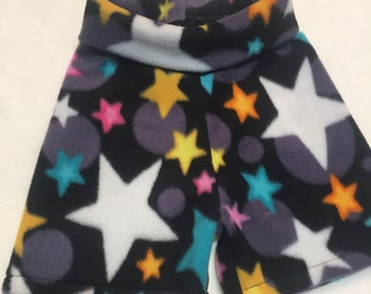 All the Stars Anti Pill Fleece Shorties --- Diaper Cover