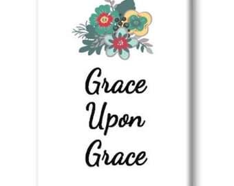 Grace Upon Grace Magnet, Refrigerator Magnet