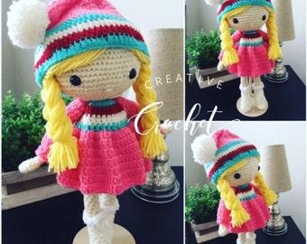 Handmade Crochet Irene Doll