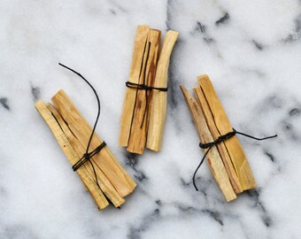 Palo Santo Wood Bundles, Incense Sticks, Smudge Sticks, Holy Wood
