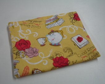 Beauty and the Beast Reusable Snack Bag READY TO SHIP