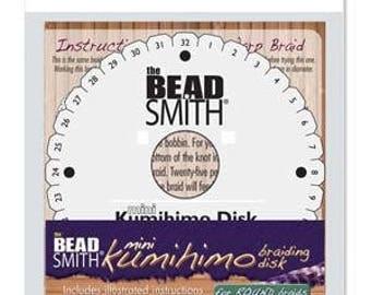 "Beadsmith 4 1/4"" Round Kumihimo Disk KD602"