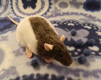 Mink Half-Hooded Rat Plushie